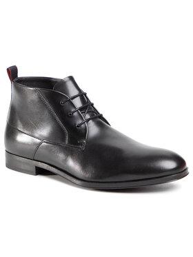 Hugo Hugo Kotníková obuv Boheme 50445834 10222044 01 Černá