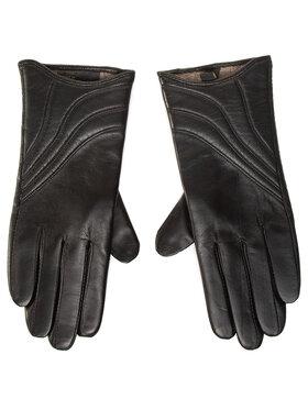 Wittchen Wittchen Dámske rukavice 44-6-526-1 Čierna