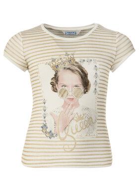 Mayoral Mayoral T-Shirt 3010 Goldfarben Regular Fit