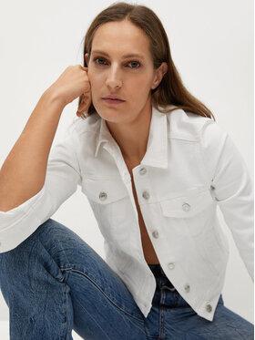 Mango Mango Farmer kabát Vicky 87016303 Fehér Regular Fit