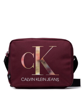 Calvin Klein Jeans Calvin Klein Jeans Torebka Sport Essential Camera Bag K60K608392 Bordowy