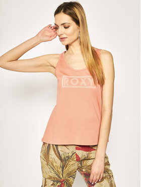 Roxy Roxy Top Closing Party ERJZT04805 Orange Regular Fit