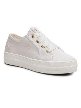 Gant Gant Сникърси Leisha 22539564 Бял