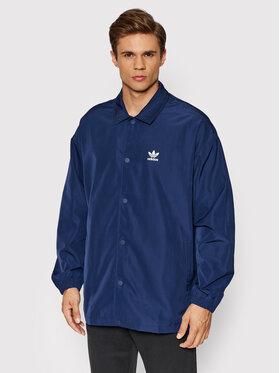 adidas adidas Veste de mi-saison adicolor Classics Trefoil H09128 Bleu marine Loose Fit