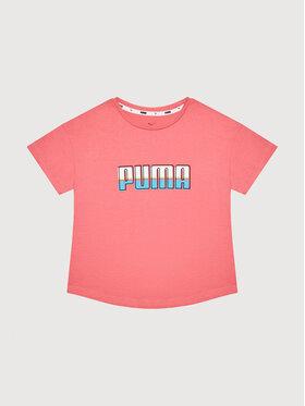 Puma Puma T-Shirt Celebration 584188 Růžová Regular Fit