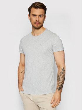 Tommy Jeans Tommy Jeans T-Shirt Jaspe DM0DM09586 Γκρι Slim Fit
