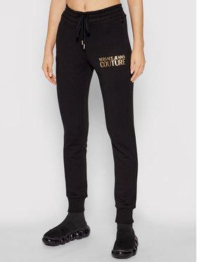 Versace Jeans Couture Versace Jeans Couture Jogginghose Logo Foil 71HAAT04 Schwarz Regular Fit