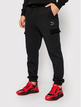 Puma Puma Долнище анцуг Winter Classics Sweatpants 531277 Черен Regular Fit