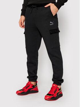 Puma Puma Spodnie dresowe Winter Classics Sweatpants 531277 Czarny Regular Fit