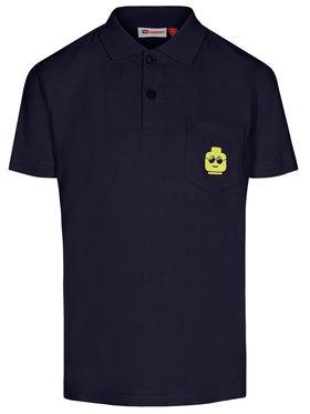LEGO Wear LEGO Wear Тениска с яка и копчета LWTobias 312 22363 Тъмносин Regular Fit