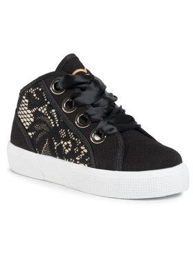 Guess Guess Sneakers Piuma Lace Mid FI7PIM FAB12 Noir