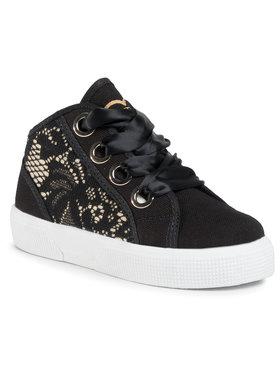 Guess Guess Sneakersy Piuma Lace Mid FI7PIM FAB12 Čierna
