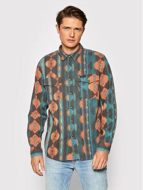 Billabong Billabong Marškiniai WRANGLER Westward Twill Z1SH33 BIF1 Spalvota Classic Fit