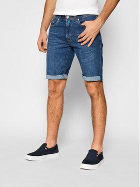 Pierre Cardin Pierre Cardin Pantaloncini di jeans 3452/000/8860 Blu scuro Regular Fit