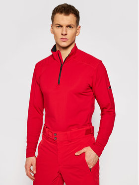 Descente Descente Koszulka techniczna Piccard DWMQGB23 Czerwony Regular Fit