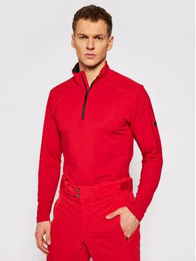 Descente Descente Тениска от техническо трико Piccard DWMQGB23 Червен Regular Fit