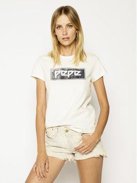 Pepe Jeans Pepe Jeans T-shirt Marley PL504254 Beige Regular Fit