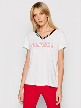Tommy Hilfiger Tommy Hilfiger T-shirt Cn Tee UW0UW02983 Bianco Regular Fit