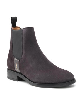 Gant Gant Kotníková obuv s elastickým prvkem Fayy 23553114 Šedá