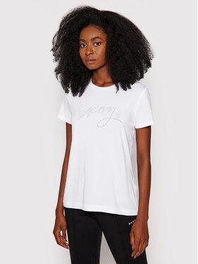 DKNY DKNY T-shirt P1DSEDNA Bianco Regular Fit