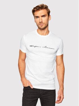 Emporio Armani Underwear Emporio Armani Underwear Tričko 110853 0A724 00010 Biela Regular Fit