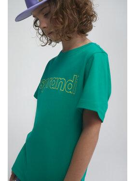 Sprandi Sprandi T-shirt SS21-TSB002 Verde Regular Fit