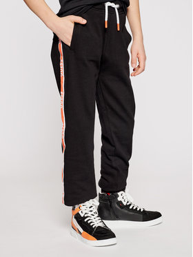Guess Guess Παντελόνι φόρμας L1RQ03 KA6R0 Μαύρο Regular Fit
