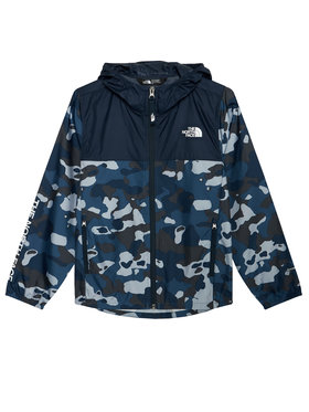 The North Face The North Face Wiatrówka Reactor NF0A3NKGM7Z1 Granatowy Regular Fit