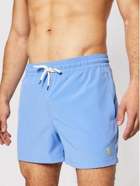 Polo Ralph Lauren Polo Ralph Lauren Plavecké šortky Traveler 710837404002 Modrá Regular Fit
