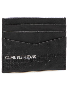 Calvin Klein Jeans Calvin Klein Jeans Bankkártya tartó Cardcase 6Cc Lth K50K506199 Fekete