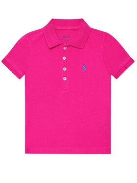 Polo Ralph Lauren Polo Ralph Lauren Polo marškinėliai Ss Polo 312698589089 Rožinė Regular Fit