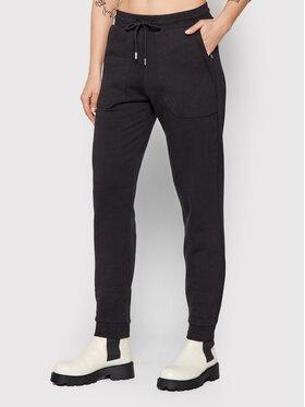 Selected Femme Selected Femme Spodnie dresowe Stasie 16082408 Czarny Regular Fit