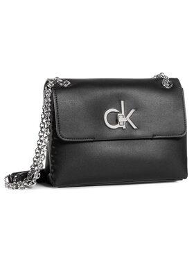 Calvin Klein Calvin Klein Sac à main Ew Conv Flap Crossbody Md K60K606675 Noir