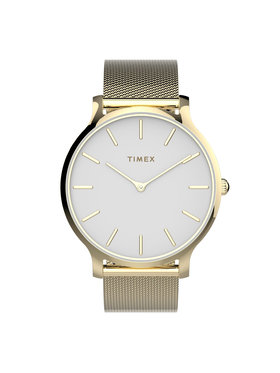 Timex Timex Часовник Transcend™ TW2T74100 Златист