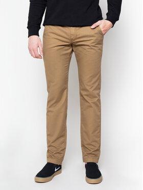 Vans Vans Pantalon en tissu Authentic VN0A3143DZ91 Marron Modern Fit