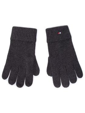 Tommy Hilfiger Tommy Hilfiger Pánské rukavice Pima Cotton Gloves AM0AM06591 Šedá