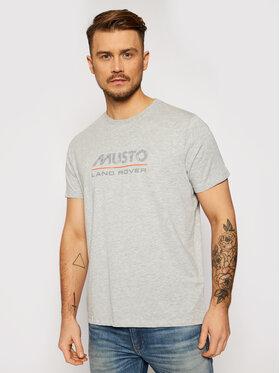 Musto Musto T-Shirt Lr Logo 84008 Grau Regular Fit