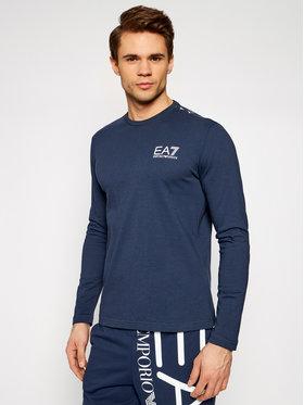 EA7 Emporio Armani EA7 Emporio Armani Тениска с дълъг ръкав 3KPT08 PJA2Z 1554 Тъмносин Regular Fit