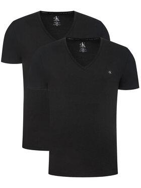 Calvin Klein Underwear Calvin Klein Underwear 2-dílná sada T-shirts 000NB2408A Černá Regular Fit