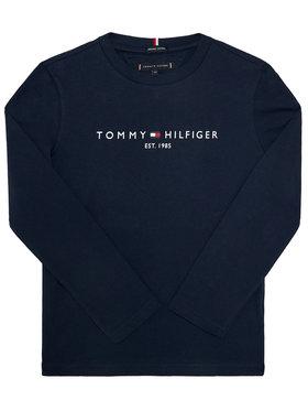 TOMMY HILFIGER TOMMY HILFIGER Bluse Essential KB0KB06105 D Dunkelblau Regular Fit