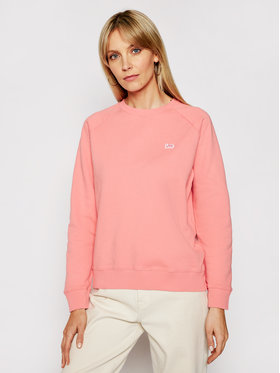 Lee Lee Bluza Plain L53RTXQJ Różowy Regular Fit