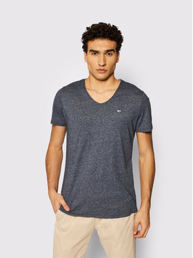 Tommy Jeans Tommy Jeans T-Shirt Tjm Jaspe V Neck DM0DM09587 Dunkelblau Slim Fit