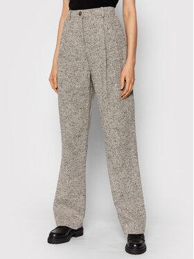 Tory Burch Tory Burch Pantalon en tissu 85348 Gris Regular Fit