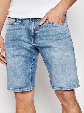 Tommy Jeans Tommy Jeans Džínové šortky Scanton DM0DM10559 Modrá Slim Fit