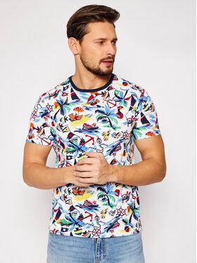 Polo Ralph Lauren Polo Ralph Lauren T-Shirt Ssl 710835281001 Barevná Slim Fit