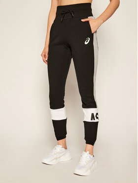 Asics Asics Teplákové kalhoty Colorblock 2032B692 Černá Slim Fit