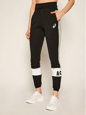 Asics Asics Teplákové nohavice Colorblock 2032B692 Čierna Slim Fit