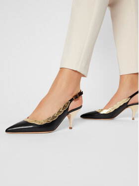 Tory Burch Tory Burch Αθλητικά Applique Slingback 70Mm Pump 76940 Μαύρο