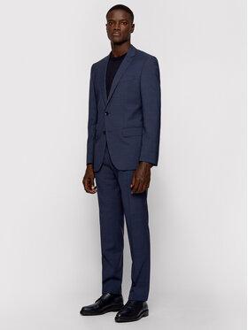 Boss Boss Kostiumas Huge6/Genius5 50454515 Tamsiai mėlyna Slim Fit