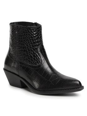 Gino Rossi Gino Rossi Členková obuv N577 Čierna